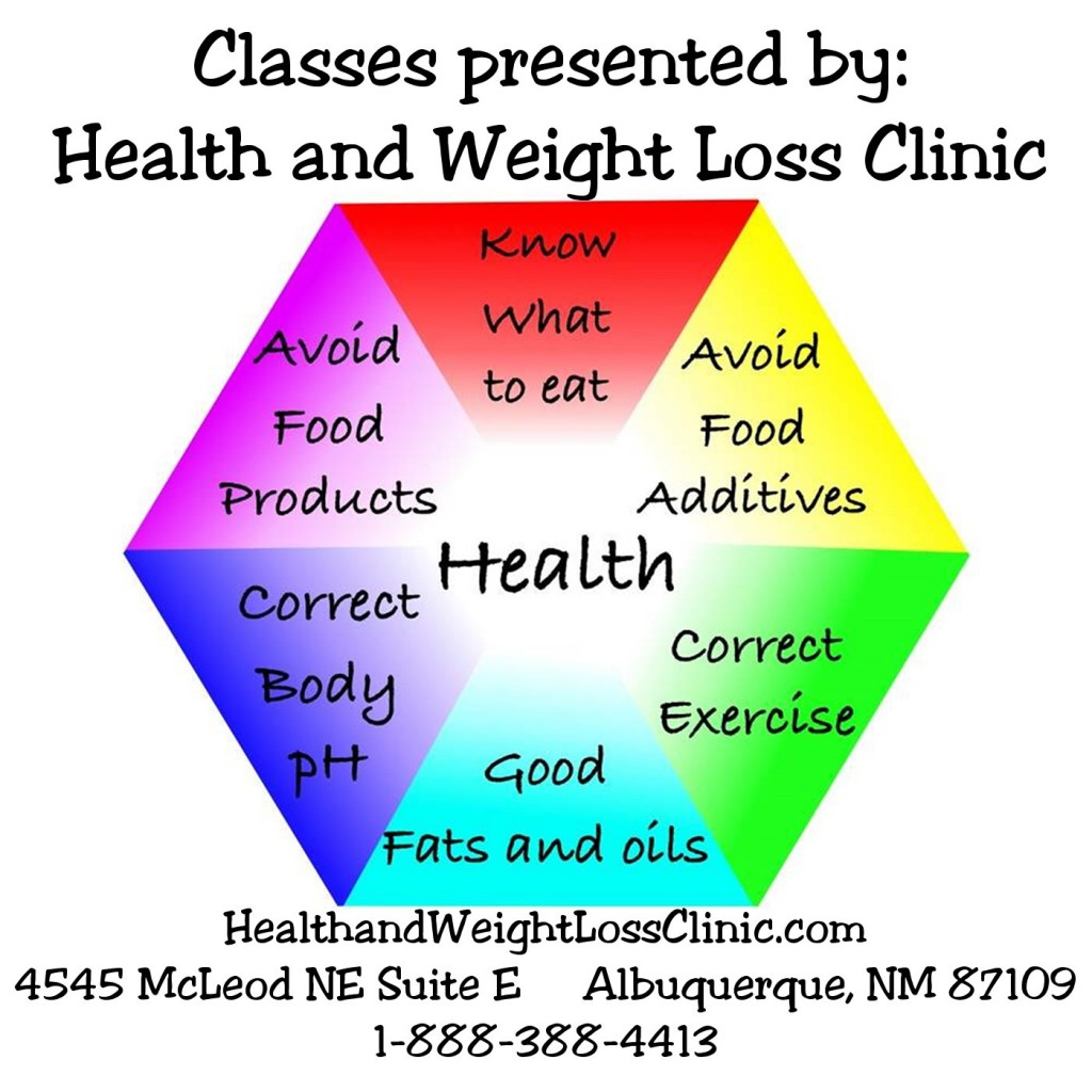 Health and Weight Loss Clinic Classes